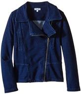 Splendid Littles Indigo Denim Moto Jacket Girl's Coat