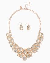 Charming charlie Veronique Bib Necklace Set