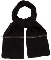 Rag & Bone Wool Cable Knit Scarf