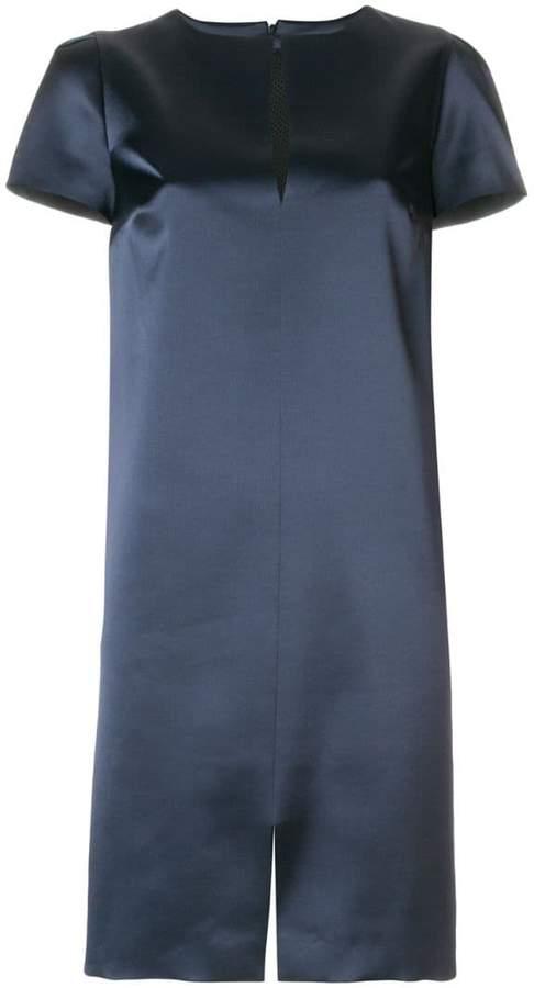Gianluca Capannolo glossy shift dress