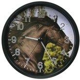 La Crosse Technology 403-312C 12 Inch Lighted Hands Clock - Horse Design