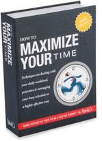 Bed Bath & Beyond How to Maximize Your Time Book Flask