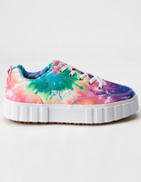 Fila Sandblast Low Womens Tie Dye Shoes