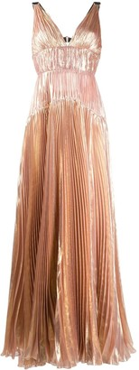 Maria Lucia Hohan Ayana pleated tiered dress