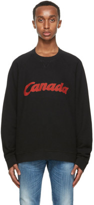 DSQUARED2 Black Canada Sweatshirt