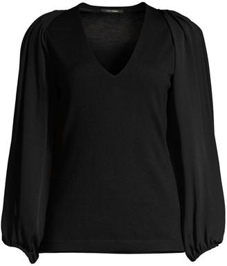 Kobi Halperin Malika Extrafine Merino Wool & Silk Sweater