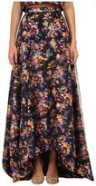 Nicole Miller 3D Floral Tea Length Full Skirt