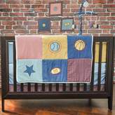 Pam Grace Creations Let's Play Ball 10 Piece Crib Bedding Set