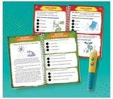 Educational Insights Hot Dots Jr. Let's Master Grade 2 Reading Set with Hot Dots Pen