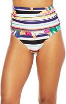 Trina Turk Treasure Cove High Waist Bikini Bottoms