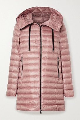 Moncler Rubis Hooded Quilted Shell Down Jacket - Blush