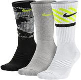 Nike Men's 3-pack Dri-FIT Triple Fly Socks