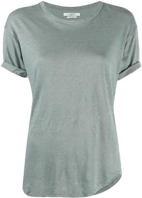 Etoile Isabel Marant short-sleeve linen T-shirt
