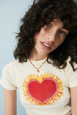 Urban Outfitters Mushroom Charm Beaded Necklace - Assorted ALL at