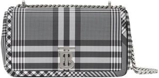 Burberry Small Check Nylon Lola Bag