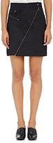 Tomas Maier Women's Denim Zip-Front Miniskirt-NAVY