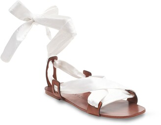 BCBGMAXAZRIA Connie Lace-Up Sandal