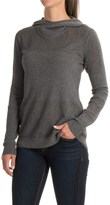 Indigenous Organic Cotton Netted Scuba Hoodie (For Women)
