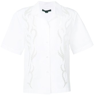 Alexander Wang laser cut shirt
