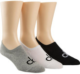 Calvin Klein 3 Pk Logo Liner Sock