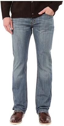 Levi's Mens 527 Slim Boot Cut Jeans in Medium Chipped