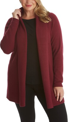Adyson Parker Ribbed Open Long Cardigan