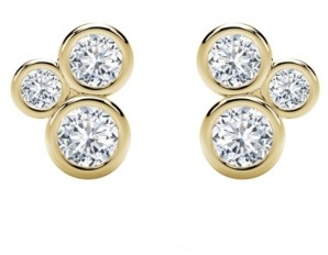 Forevermark Tribute Collection Diamond (1/2 ct. t.w.) Studs in 18k Yellow, White and Rose Gold