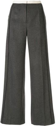 Ruban Wide Leg Trousers