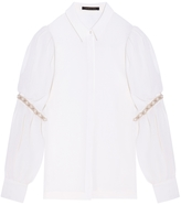 Mother of Pearl Lavanda Wool Blouse