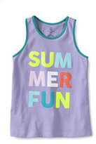 Classic Toddler Girls Graphic Racerback Tank-Pale Banana Aloha