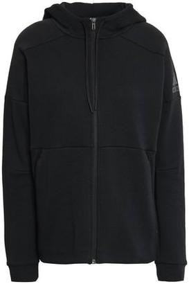 adidas Cotton-blend Jersey Hoodie