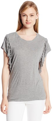 Olive + Oak Olive & Oak Women's Fringe Detail Top