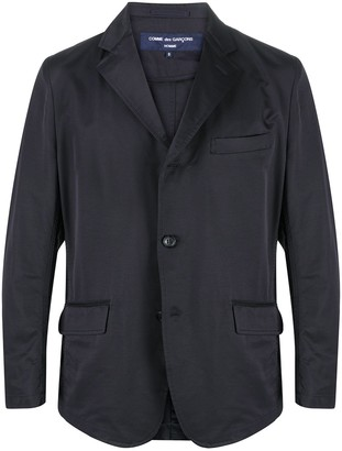 Comme des Garçons Homme Single-Breasted Tailored Blazer