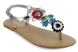 OLIVIA MILLER Ocala Multi Floral Sandals Women's Shoes
