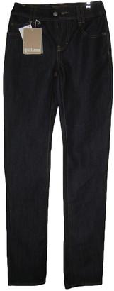 John Galliano Navy Cotton Jeans