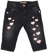 Guess Glitter Heart Denim Pants