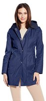 Anne Klein Women's Turn Key Raincoat