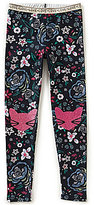 Jessica Simpson Big Girls 7-16 Surry Garden Floral Leggings