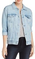 AG Jeans Distressed Denim Jacket