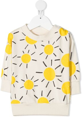 Bobo Choses Sun-Print Organic-Cotton Sweatshirt