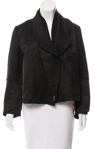 Ann Demeulemeester Casual Linen-Blend Jacket w/ Tags