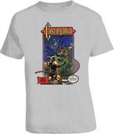 The Village T Shirt Shop Castlevania Nes Classic Game T Shirt - Grey M Sport Grey