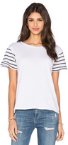 Rag Doll Ragdoll Short Sleeve Stripes Tee