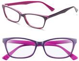 Corinne McCormack Juliet Purple Acetate Reading Glasses - 2.00