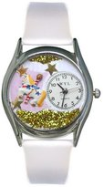 Whimsical Watches Women's S0420006 Carousel Lavender Leather Watch
