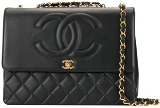 Chanel Pre Owned 1991-1994 Jumbo XL Double Chain shoulder bag