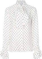 Loewe Dot Lavalliere blouse