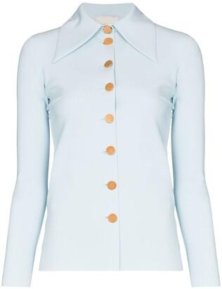 A.W.A.K.E. Mode Wide Collar Button Up Shirt