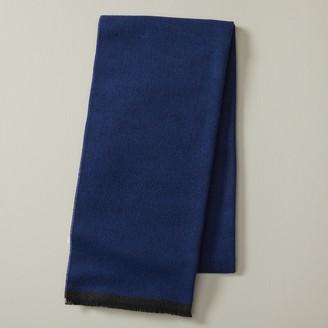 Indigo Eco Scarf Solid Blue