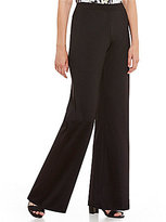 Kasper Petite Knit Concepts Wide-Leg Pants